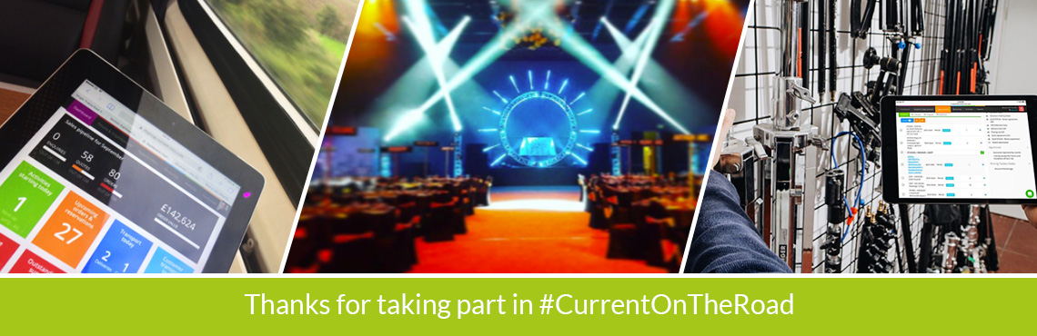 Thanks for taking part in #CurrentOnTheRoad