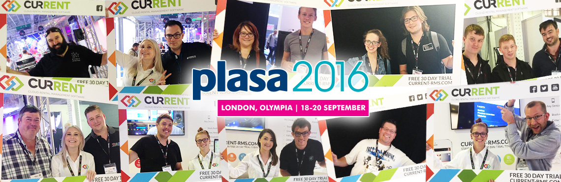 PLASA London 2016, it's been a pleasure.
