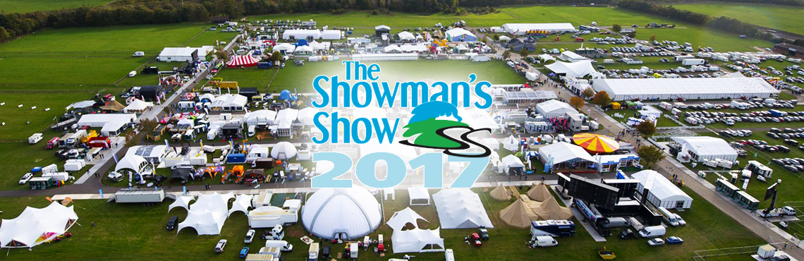 Latest sustainable event displays at Showman's Show | Currrent RMS