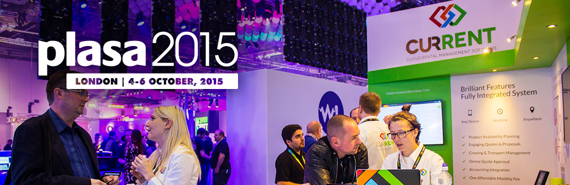 Thanks for stopping by at PLASA London 2015