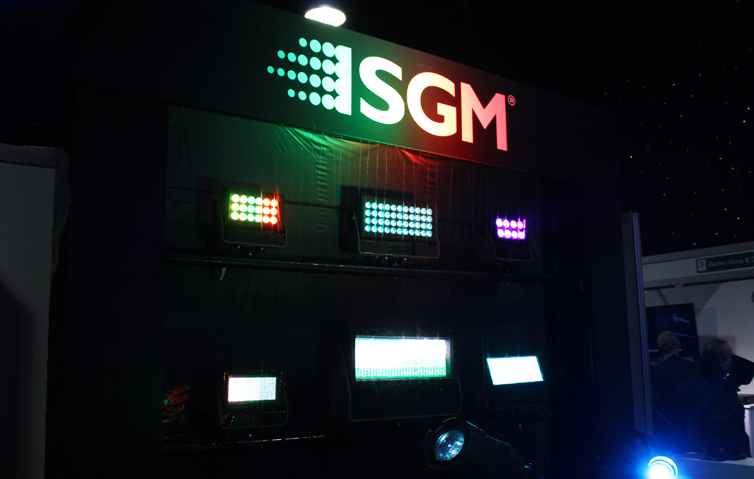 SGM at PLASA Focus Leeds