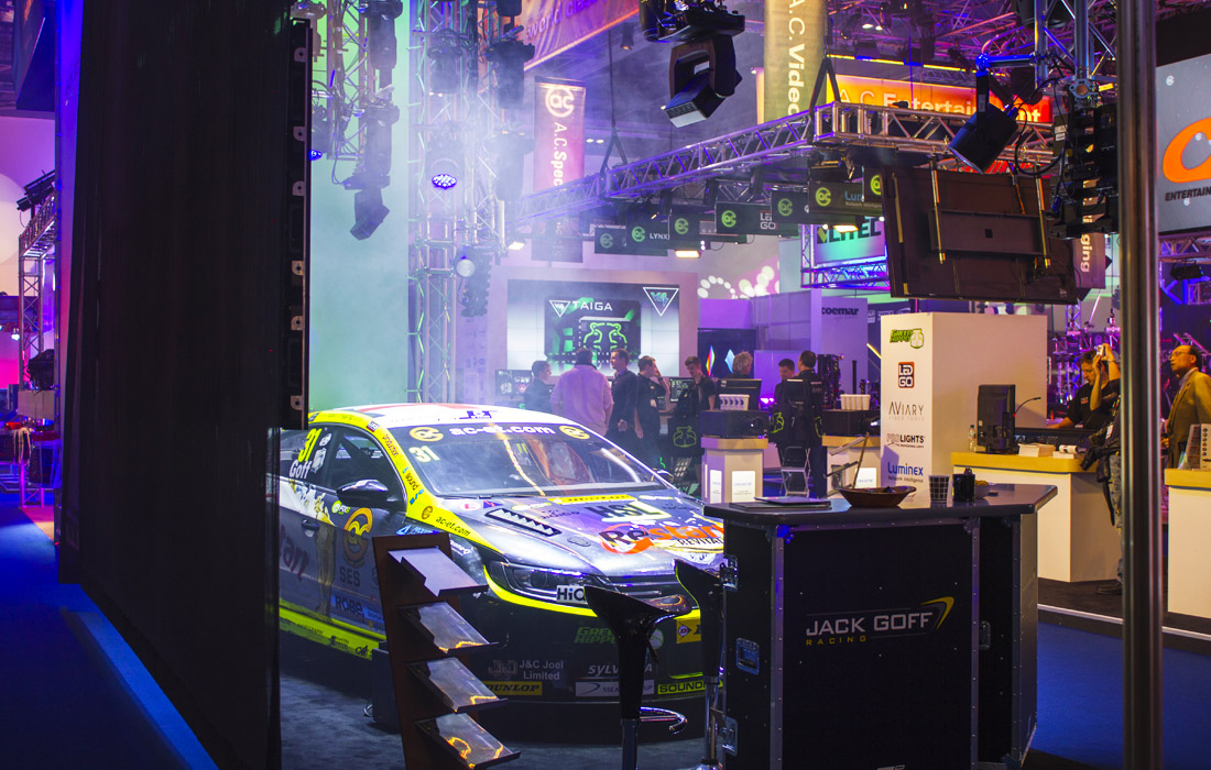 Attractions in the Excel at PLASA London 2014