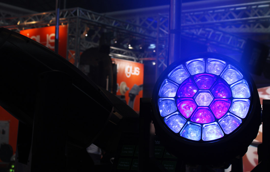 Incredible lighting equipment on display at PLASA London.
