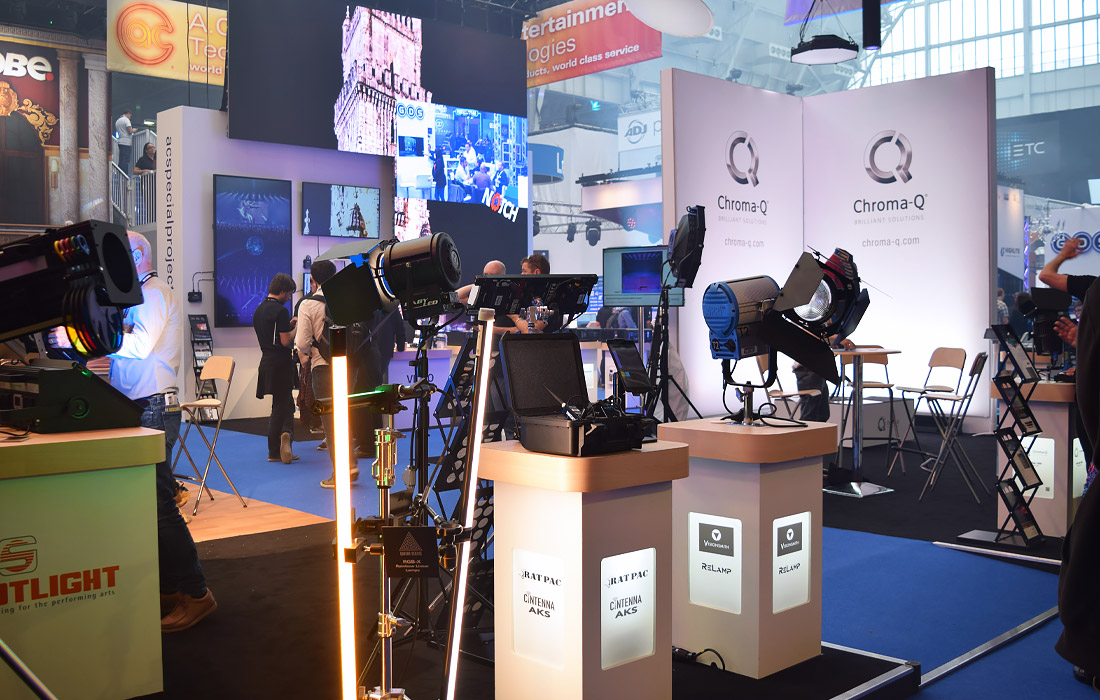 Exciting lighting displays at PLASA