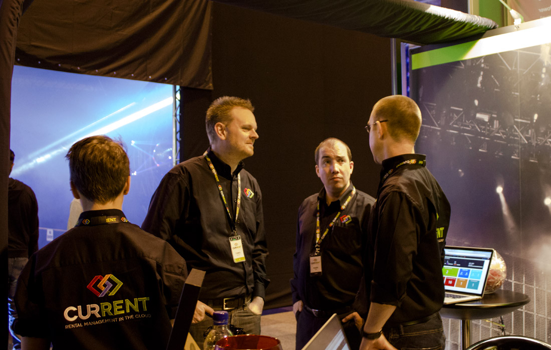 The Current RMS team together at PRO Show 2014
