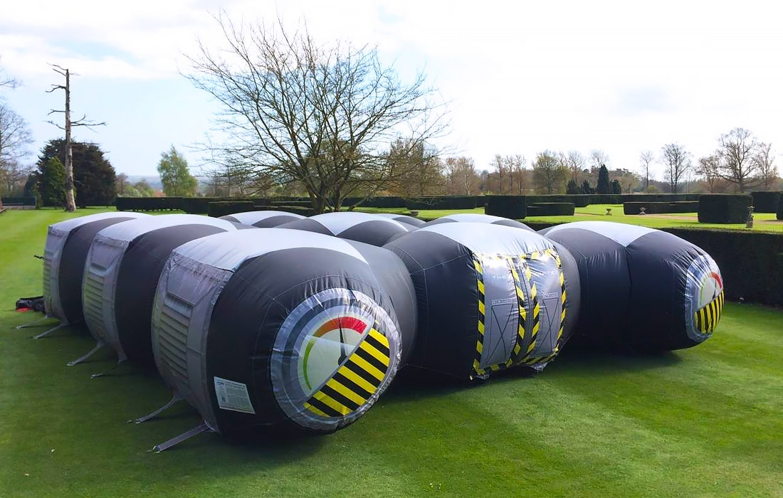 Their Inflatable Mobile Laser Tag Arena is perfect for all ages!