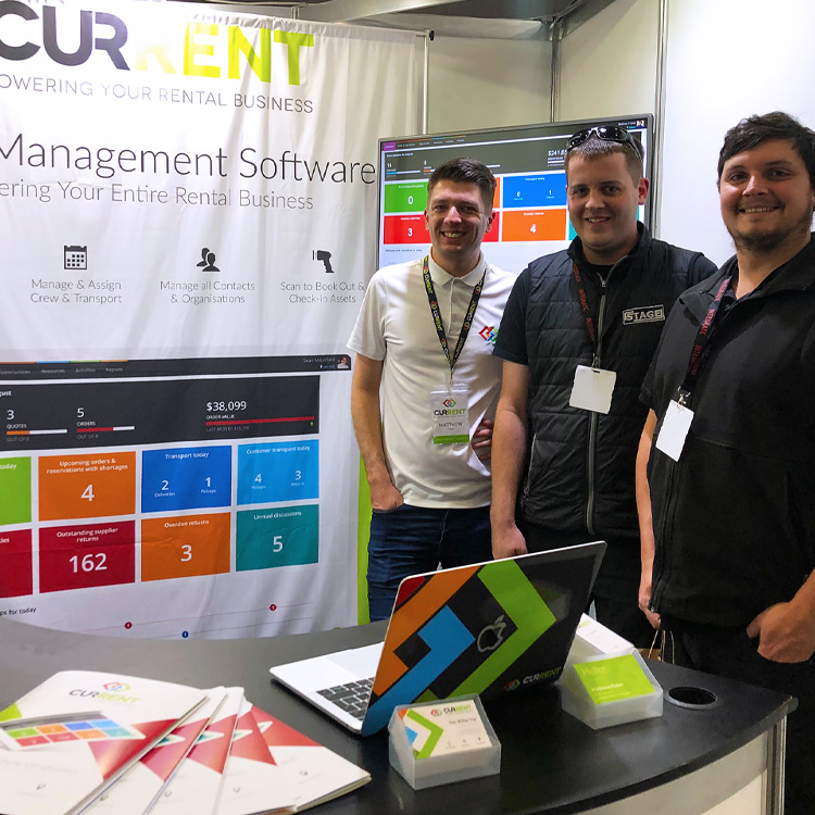 A great first time exhibiting at Integrate 2019 in Melbourne! | Current RMS