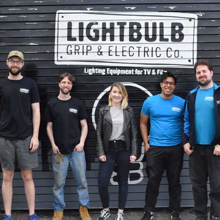 Current RMS visited Lightbulb Grip & Electric in Brooklyn, New York