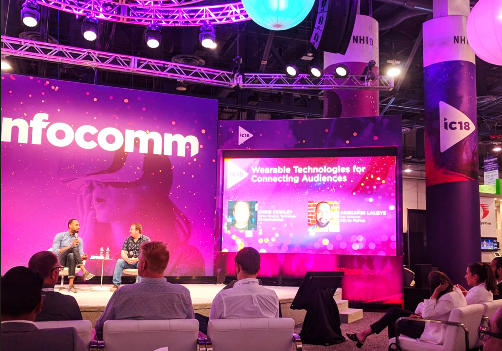 Wearable Tech at infoComm2018