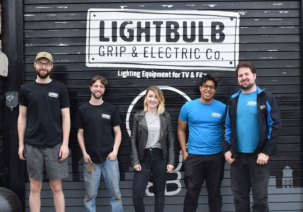 Current RMS team visited Lightbulb Grip in NY