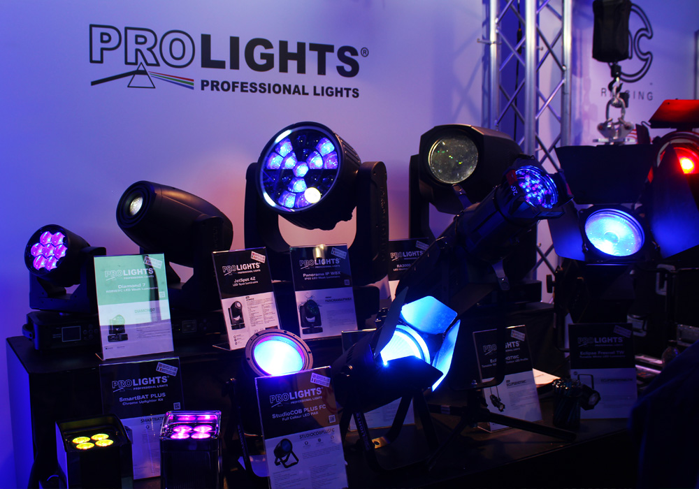 Lighting equipment at PLASA Leeds 2018