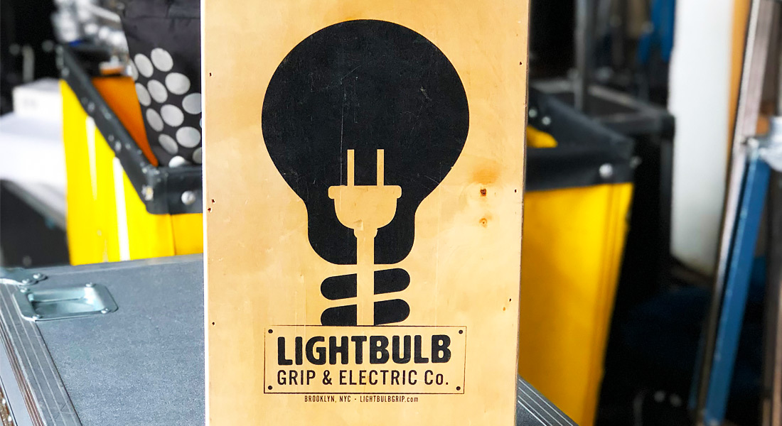 On set with Lightbulb Grip & Electric | Current RMS