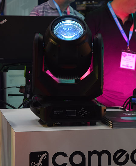 Lots of impressive lighting equipment on display at PLASA Leeds 2019