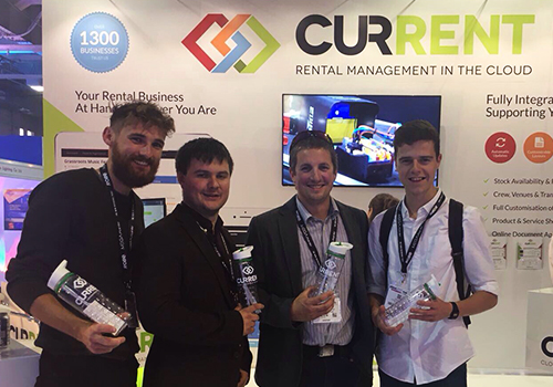 Sussex Events visited Current RMS at PLASA 2017