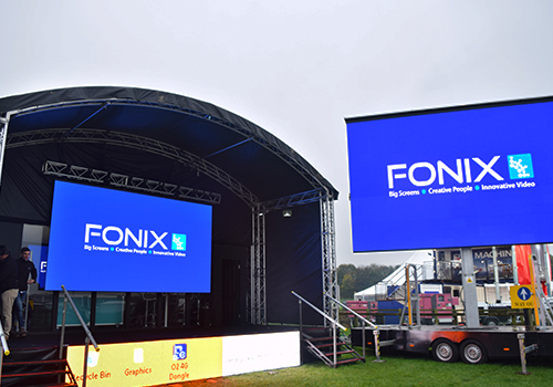 Fonix LEDs at Showmans Show 2017