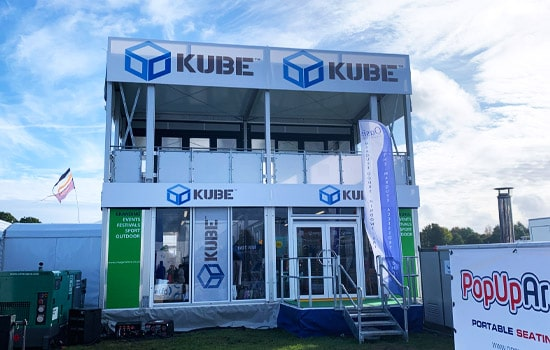 KUBE were at Showmans show 2019