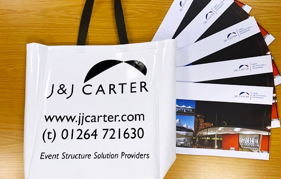 J & J Carter goodie bags at Showans show 2019