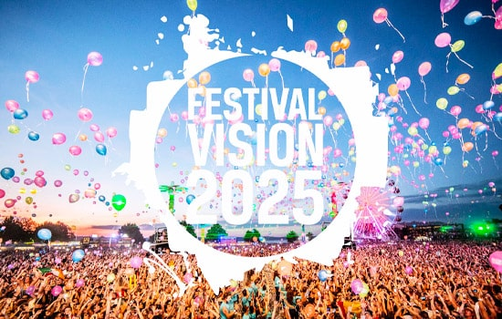 Festival Vision: 2025 were at Showmans show 2019