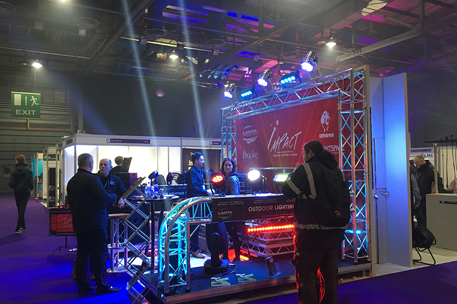 Lighting gear at PLASA Focus Glasgow