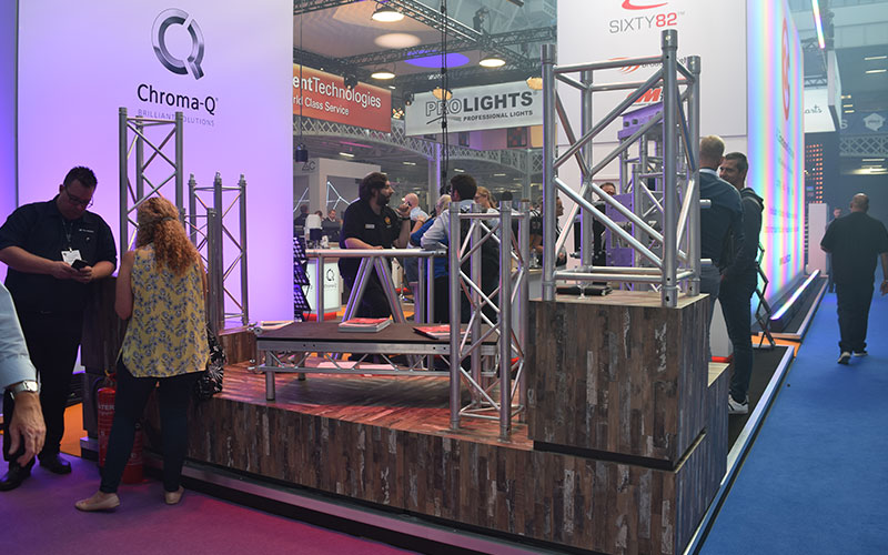 The latest products in the rigging and staging industry