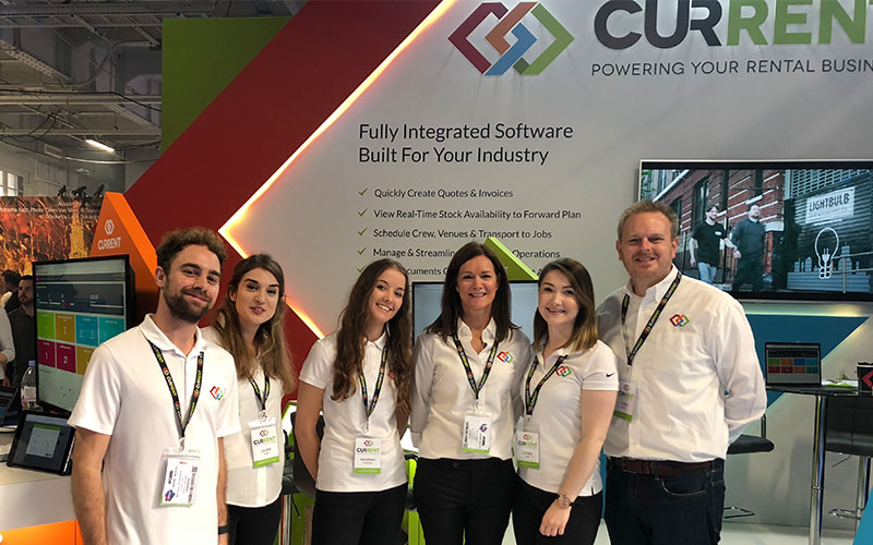 Team Current RMS on Stand J50 ready for software demos