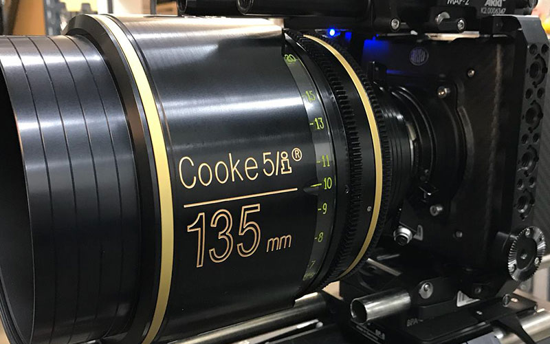 The Vision House are one of a few rental houses in Australia to have the Cooke Optics 5i lens kit, including the 135mm 5i T1.4
