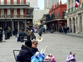 Artists out and about in New Orleans