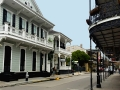 Historical buildings in New Orleans.