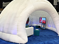 Even an igloo made it to the 60th Anniversary.