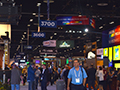 A busy exhibition hall throughout all 3 days of InfoComm.