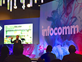 Center Stage at InfoComm 2017.