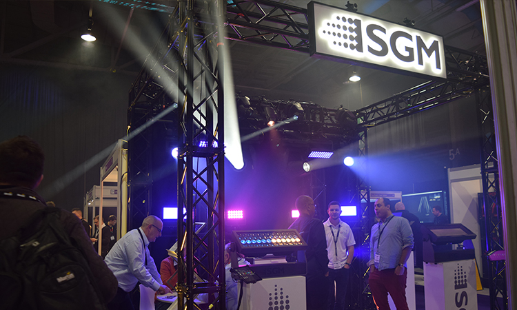 SGM at PLASA Focus Glasgow.