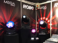 MegaPointes on display at Robe_s stand.