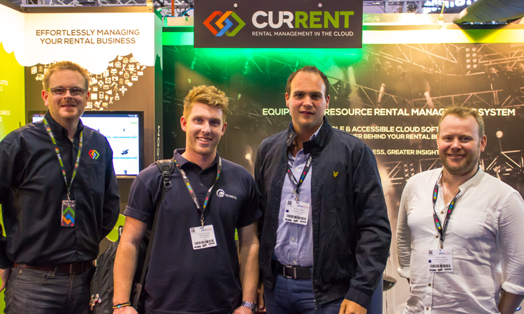 Lux Technical, our PRO 2014 competition Winners came by to say hello.