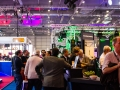 Visitors surrounding the ETC Stand and Innovation Gallery.