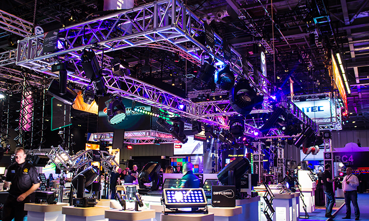 Impressive products on display at PLASA London 2015.