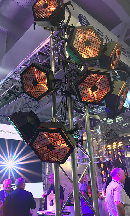 Exciting new lighting products for the AV and Lighting industry.