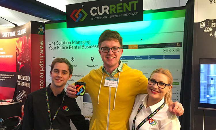 Great to see Matt Turner from Clownfish Events again. Matt has been with Current for a year now after signing up at last year's show.