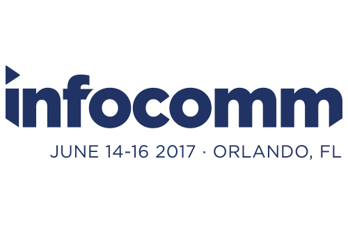 Current RMS will exhibit at the InfoComm Show 2016